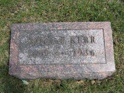 Noel Francis Kerr