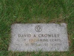 David A Crowley