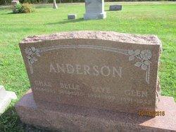 """Sarah Belle """"Belle"""" <I>Hibbs</I> Anderson"""