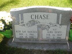 """Alma Ockey """"Bud"""" Chase"""