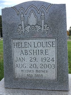 Helen Louise Abshire