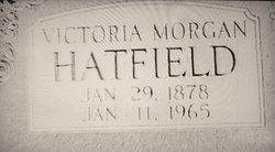 Victoria <I>Morgan</I> Hatfield