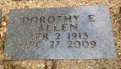 Dorothy Evelyn <I>Breeding</I> Allen