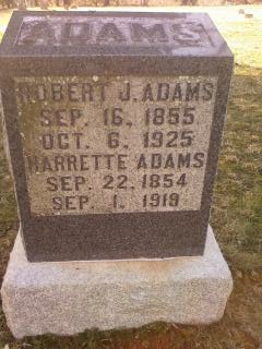 Harriet <I>Boley</I> Adams