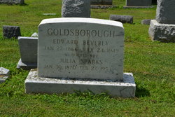 Julia <I>Sparks</I> Goldsborough