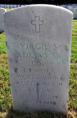 Virgil S Adkins, Sr