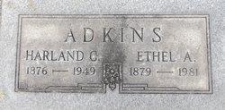 Harland C Adkins
