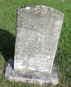 Bertha J Branson