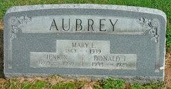 Mary Ellen <I>Jones</I> Aubrey
