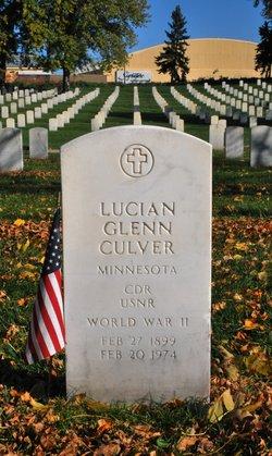 Lucian Glenn Culver