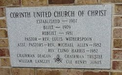 Corinth United Church of Christ