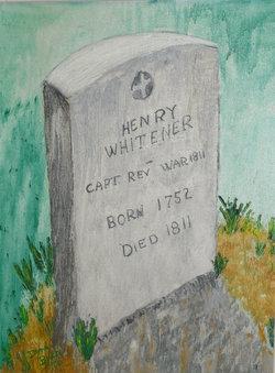 Capt Henry Whitener, Jr