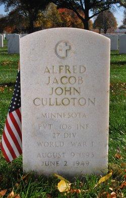 Alfred Jacob John Culloton
