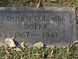 "Sister Catherine Mary ""Sister Columba"" Doerr"