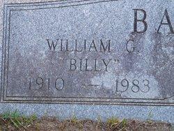 "William G. ""Billy"" Barks"