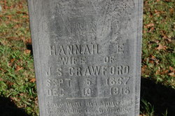 Hannah <I>Calvert</I> Crawford