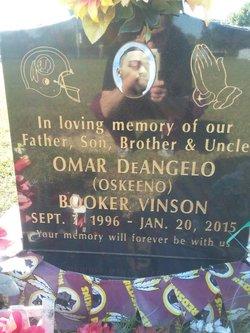 Omar DeAngelo <I>Booker</I> Vinson