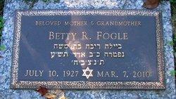 Betty R. Fogle