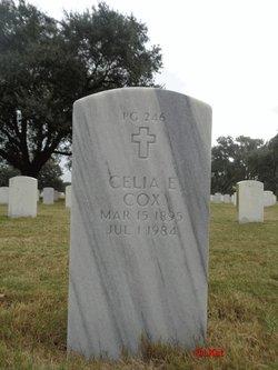 Celia E Cox