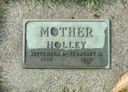 Martha Ann <I>Ashley</I> Holly