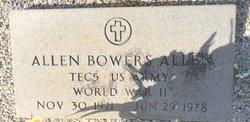 Allen Bowers Allen