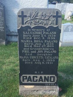 Maria Rosa <I>Cassata</I> Pagano