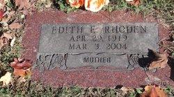 Edith E. Rhoden