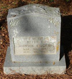 Hettie E <I>Johnson</I> Vaughan