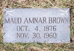 Maude Amnar <I>Christopher</I> Brown