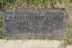 Sarah Jessie <I>Utsman</I> Black