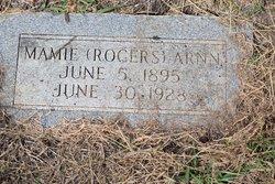 Mamie <I>Rogers</I> Arnn