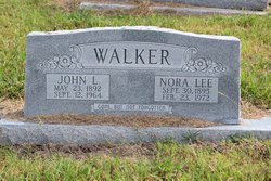 Nora Lee <I>Fleming</I> Walker