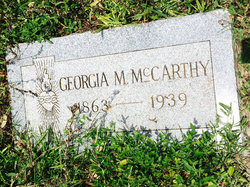 Georgia Mary <I>McNeel</I> McCarthy