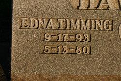Edna L <I>Timming</I> Hawver