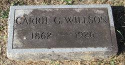 Carrie G. Willson