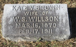 Kate Verrell <I>Brown</I> Willson