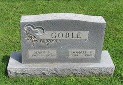 Mary E. <I>Litzinger</I> Goble