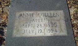 Annie Colleen <I>Johnson</I> Allen