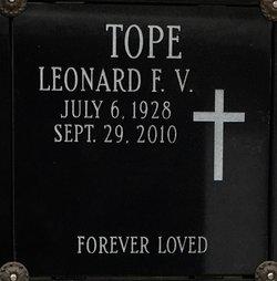 Leonard Frederick V Tope