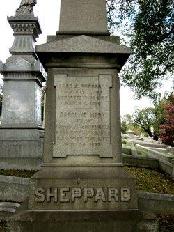 Caroline Mary <I>Holmes</I> Sheppard