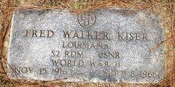 Fred Walker Kiser