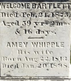 Amey <I>Whipple</I> Bartlett
