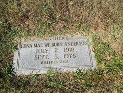 Edna Mae <I>Wilburn</I> Anderson