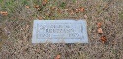 Ollie M Routzahn