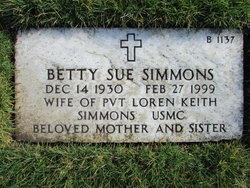 Betty Sue Simmons