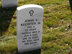 John A Kechter, Sr