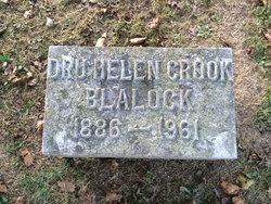 Dru Helen <I>Crook</I> Blalock
