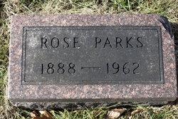 "Rosamond ""Rose"" <I>Curless</I> Parks"
