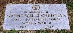 CPT Wayne Wells Christian, Jr