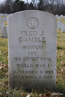 Fred J Gamble